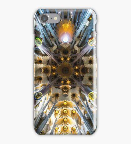 The roof to Gaudi's masterpiece Sagrada Familia, Barcelona iPhone Case/Skin