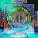 Yantra Mandala Magical Sky by webgrrl