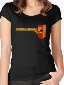 Classically Trained Video Gamer Women's Fitted Scoop T-Shirt
