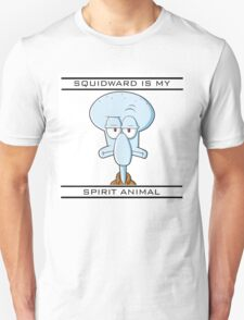 Squidward is my Spirit Animal Unisex T-Shirt