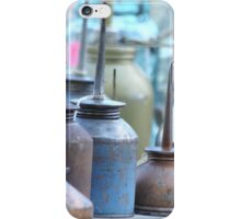 Oil Cans at Round Top iPhone Case/Skin