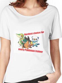 hard choice Women's Relaxed Fit T-Shirt