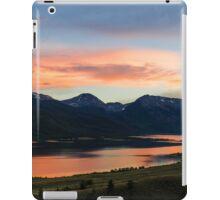 Colorado Mountain Sunset on the Twin Lakes iPad Case/Skin