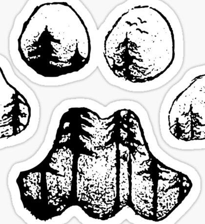 Landscape's Paw Sticker