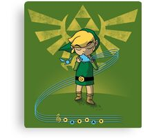 The Song of Time Canvas Print