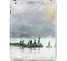 Birds of a Feather Under Ochre Skies iPad Case/Skin