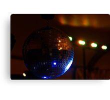 Party Disco Ball Canvas Print
