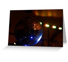 Party Disco Ball Greeting Card
