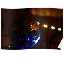 Party Disco Ball Poster
