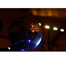 Party Disco Ball Photographic Print
