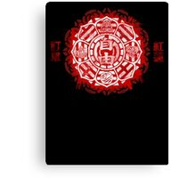 Order of the Red Lotus Canvas Print