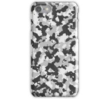 Grey Camouflage iPhone Case/Skin