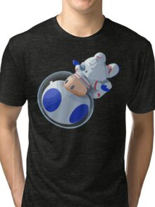 Toad In Space Tri-blend T-Shirt