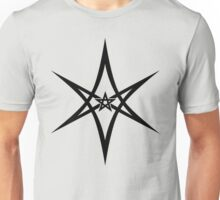 Unicursal Hexagram, Pentagram, Star Unisex T-Shirt