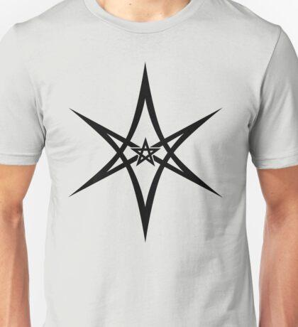 Unicursal Hexagram, Pentagram, Star Unisex T-Shirt