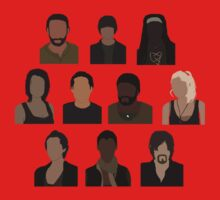 The Walking Dead Cast - Minimalist style by mashuma3130