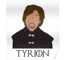 Tyrion Lannister - Game Of Thrones (with name) Poster