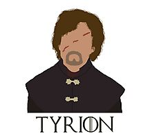 Tyrion Lannister - Game Of Thrones (with name) Photographic Print