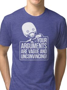 Vague And Unconvincing Tri-blend T-Shirt