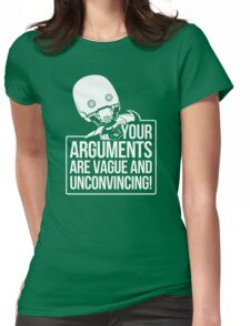 Vague And Unconvincing Womens Fitted T-Shirt