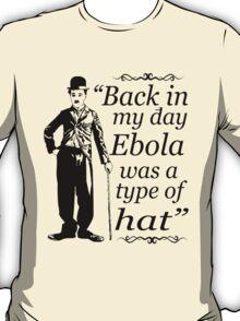 EBOLA HAT T-Shirt