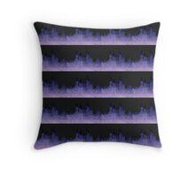 Watercolour Skyline Throw Pillow