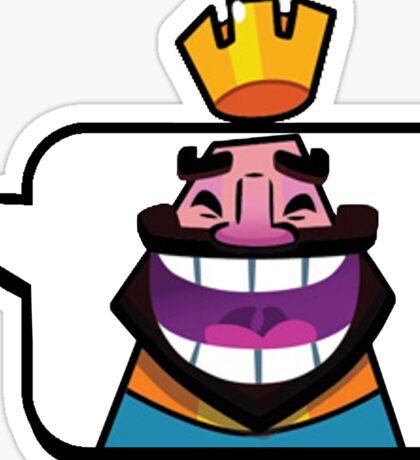 Clash Royale Laugh Emoji Sticker