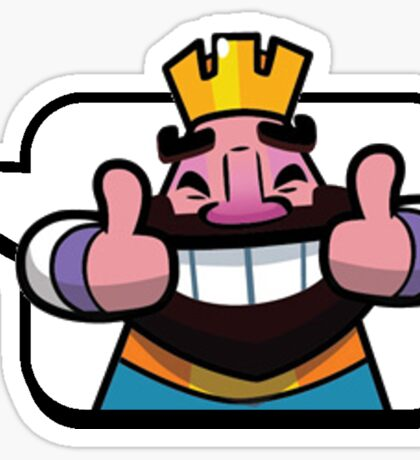 Clash Royale Thumbs Up Emoji Sticker