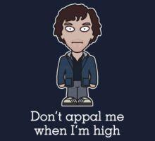 Scruffy Sherlock (shirt) by redscharlach