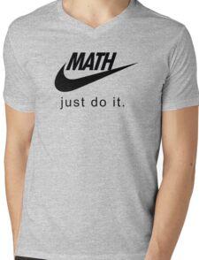 Math Mens V-Neck T-Shirt