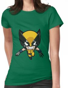 chibi cool Womens Fitted T-Shirt
