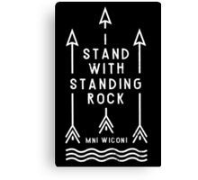 Standing Rock Canvas Print