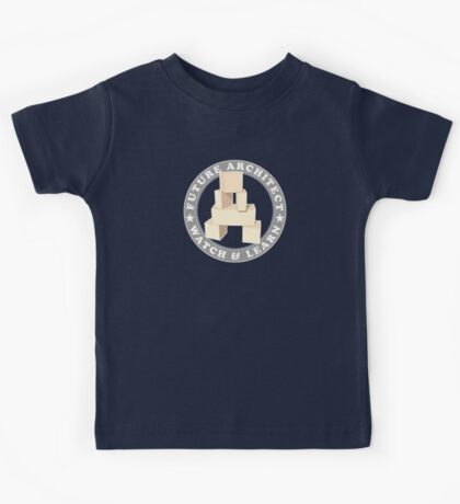 Future Architect Kids T-Shirt Kids Tee