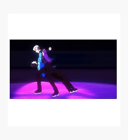 Pair Skate - Yuri!!! on Ice Photographic Print