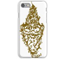 gnome wood iPhone Case/Skin