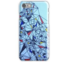 Geometric Drawing in Primary Colors; Mondrian-inspired iPhone Case/Skin