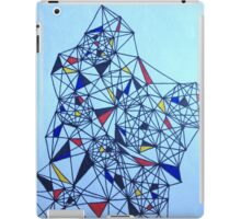 Geometric Drawing in Primary Colors; Mondrian-inspired iPad Case/Skin