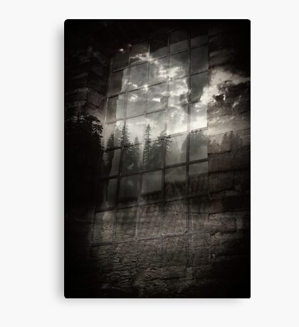 Imagination becomes reality Canvas Print