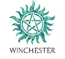 Supernatural Winchester Anti-Possession Print Photographic Print
