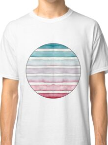 Red and Teal Make Lavender Classic T-Shirt