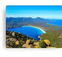 Wineglass Bay, Tasmania, Australia Canvas Print