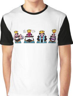 Clash Royale Emojis #1 Graphic T-Shirt