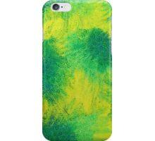 Geometric Lemon Lime Oil Pastel Etching iPhone Case/Skin