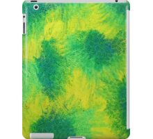 Geometric Lemon Lime Oil Pastel Etching iPad Case/Skin