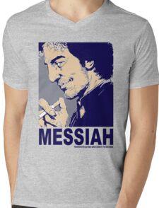 Your Messiah Mens V-Neck T-Shirt
