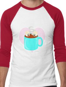 Hot Cocoa Love Men's Baseball ¾ T-Shirt