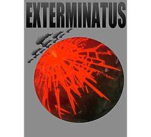Exterminatus Title Photographic Print