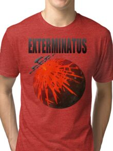 Exterminatus Title Tri-blend T-Shirt