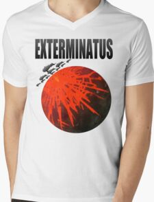 Exterminatus Title Mens V-Neck T-Shirt
