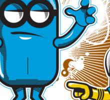 The WatchMinion Sticker